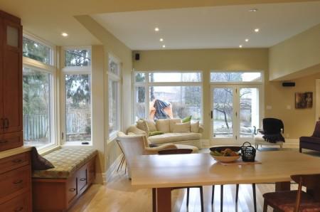 Custom Home Addition in Oakville