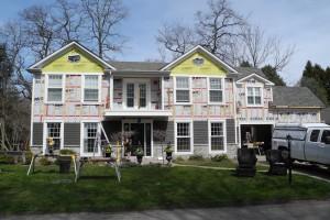 Burlington Exterior Home Renovation Project Update 4